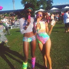 Womens Festival & Rave Fashion, Streetwear and Swimwear Festival Mode, Rave Festival, Festival Looks, Festival Wear, Festival Outfits, Edm Music Festivals, Music Festival Fashion, Rave Outfits, Edgy Outfits