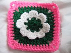 Ravelry: Flower Square Pattern pattern by Barbina