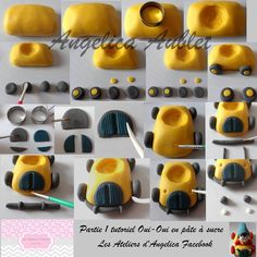 STEP BY STEP NODDY   PART N °1 BY: Les Ateliers d'Angelica -Angelica Aublet