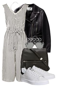 """""""#261"""" by blackandwhitesaints ❤ liked on Polyvore featuring Topshop, Givenchy, adidas, ASOS and Christian Dior"""