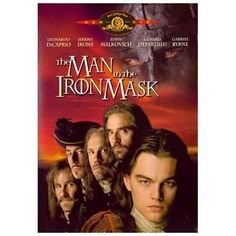 The Man in the Iron Mask (DVD, 1998)