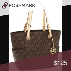 Michael Kors Signature tote Brand new, received as gift - only used once Michael Kors Bags Totes