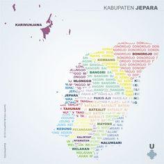 Nama-nama Kecamatan di Kabupaten Jepara