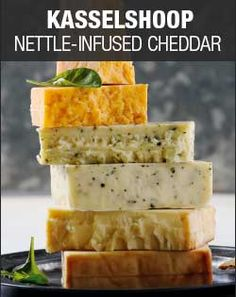 Checkers - Kasselshoop Nettle Infused Cheddar  Handcrafted by the Kasselman family farm for generations, this award-winning and delicious white Cheddar with nettles features a tangy, delightful taste that is at home on any dinner table. This is especially true when paired with a light Pinot Grigio.