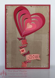 First Hand Emotion: IN{K}SPIRE_me Challenge #133: Valentine's Special.... LOVE how they stitched with bakers twine!