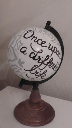 Hey, I found this really awesome Etsy listing at https://www.etsy.com/listing/227949023/hand-painted-globe-travel-and-wedding  https://www.etsy.com/uk/shop/WholeWorldOfLove Hand painted globe. Wedding guest book. Wedding decor. Home decor. Travel gift.