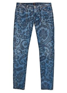 printed skinny jeans, I'm not sure how I feels about them yet, but I'm quite fond of them....