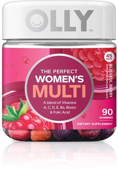 olly // perfect women's multi // berry
