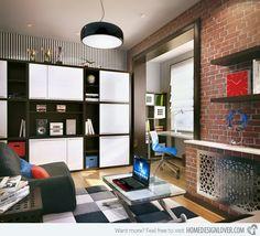 20 Ingenious Workspaces for Teenage Boys   Desks, Lovers and Bedrooms
