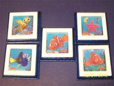 Disney Pixar Finding Nemo Wall Plaques Decor Bedding Signs Nursery Kids Room 3 | eBay