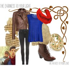 """""""Merlin Inspired Outfit"""" by sarcastic-spirit on Polyvore"""
