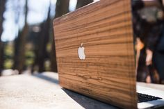 Zebran wooden cover for Mac.