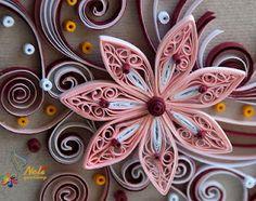 Neli's http://nelika-neli.blogspot.ca/ - Quilled flowers