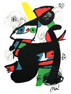 Superjueves de arte - 01.10.2015 - LA NACION Shape Poems, Joan Miro Paintings, Max Ernst, Art Folder, Arches Paper, Moving To Paris, Create Words, Antique Auctions, Traditional Paintings