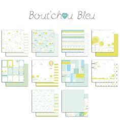 Bout'Chou Bleu - Collection pack