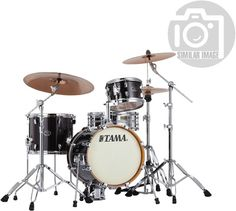 "Tama Silverstar Metro Jam - Set Konfiguration bestehend aus:  16"" x 14"" Bass Drum 10"" x 6,5"" Tom Tom 13"" x 11"" Stand Tom"
