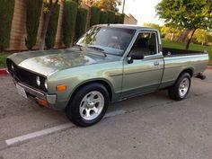Daily Turismo: 5k: Green Fields: 1973 Datsun Pickup Truck