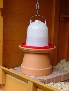 Great cheap chicken water heater - Wichita Cabin Coop