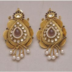 Online Shopping for Beautiful Green color Earrings | Earrings | Unique Indian Products by Swarajshop - MSWAR58726768400