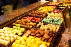 Ladurée, Paris - France ... macarons