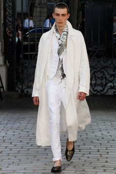 Haider Ackermann Spring 2016 Menswear Fashion Show - Finnlay Davis