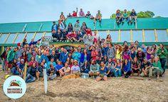 Ils créent la première école écologique et auto-construite en Uruguay  It's a wonderful time for the green school!