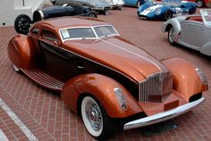 1934 Packard Myth Custom Boattail Coupe