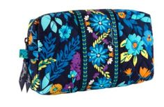 Vera Bradley Medium Cosmetic Bag- MIDNIGHT BLUES (SPRING 2013) **(NEW)*** *** Discover this special product, click the image : Travel cosmetic bag