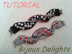 TUTORIALS - Two x 3D Daisy Freestyles Bracelets
