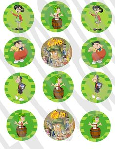 Instant Download El chavo del 8 Stickers by ECDesignss on Etsy, $2.00