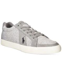 Polo Ralph Lauren Hugh Contrast Sneakers