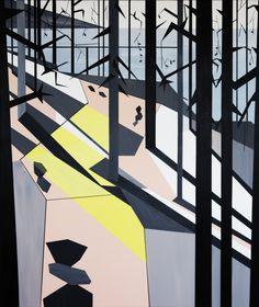 Geometriske malerier – LiseSteingrim Paintings, Abstract, Artwork, Kunst, Summary, Work Of Art, Paint, Auguste Rodin Artwork, Painting Art