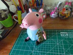 Don'na du lar: feltro Peppa Pig - Free Pattern
