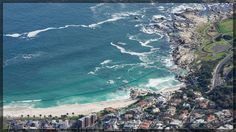 View from Table Mountain toward Camps Bay - By Neville Nel