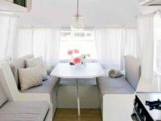 relooking caravane | Idée déco : installer son bureau dans une caravane…