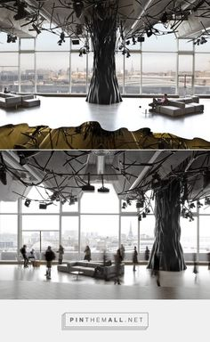 This electric bar is located in Paris, France, which is designed by Mathieu Lehanneur.