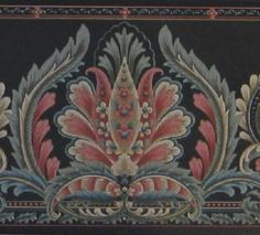 Gallery.ru / Фото #58 - Бордюры (новое) - MontanaBY Edwardian Dress, Black Flowers, Flower Art, Accent Decor, Cross Stitch Patterns, Mandala, Indian, Wallpaper, Floral