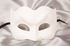 Blank Venetian Masks To Decorate Blank Masks To Decorate  Classic Mask  Blank Undecorated Masks