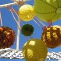 Pomanders and Paper Lanterns-oh so summery