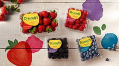 Driscoll's® is the leading supplier of fresh berries supplying naturally sweet and healthy strawberries, blueberries, blackberries, and raspberries.