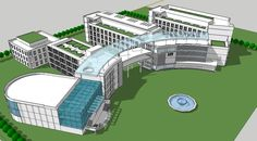 Seven Reasons Why People Like Shop Lawn Garden Supplies Condominium Architecture, Stairs Architecture, Chinese Architecture, Concept Models Architecture, Architecture Details, Hospital Floor Plan, Modern Hospital, General Hospital, Urban Design Diagram