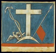 Hellenic Army, Greek Independence, Greece History, Living Bible, Greek Flag, Greek Fashion, Flag Painting, Greek Culture, Byzantine Art