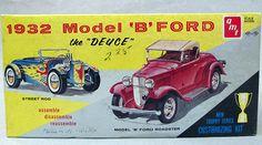 Vintage Model Car Box Art - Fosil Fueled - Fosil Fueled