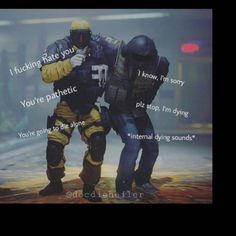 Damn Lion don't be a dick Rainbow Six Siege Memes, Rainbow 6 Seige, Rainbow Six Siege Art, Tom Clancy's Rainbow Six, Funny Gaming Memes, Bad Memes, Gamer Humor, Funny Games, Funny Memes Images