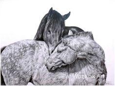 Pat Wozniak Art   Equine Gallery 2
