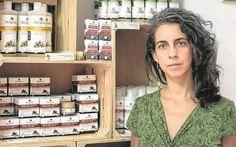 Emprendedora con cosmética natural en Extremadura