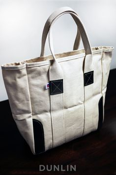 New Arrivals at DUNLIN... Dunlin Duck Canvas & Leather Tote $68