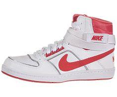 Nike Women's Delta Lite Mid - White / Sunburst-Metallic Silver, 9 B US  #Nike #Shoes Air Force Sneakers, Nike Air Force, Nike Shoes, Sneakers Nike, Nike Women, Metallic, Silver, Fashion, Nike Tennis