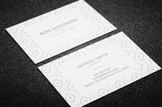 Minimal Business Card Template by Arslan on Creative Market