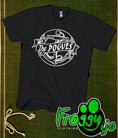 The Pogves Anchor Men TShirt  Anchor TShirt  by FROGGYijo on Etsy, $16.98
